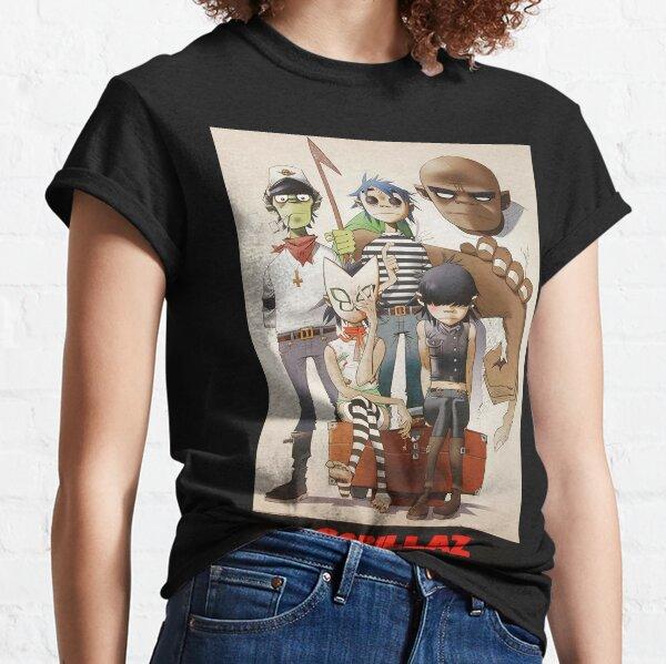 Lo mejor - familia Gorilaz Camiseta clásica