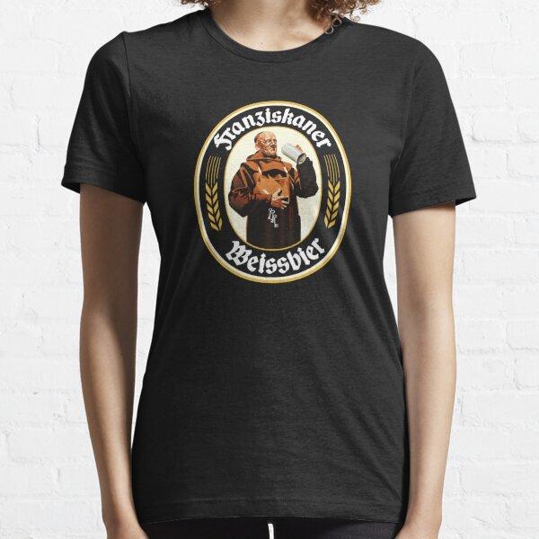 Franziskaner Schwarz Essential T-Shirt