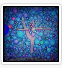 Yoga art 14 Sticker