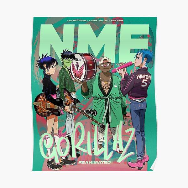 Meilleur - NME Gorilaz Poster