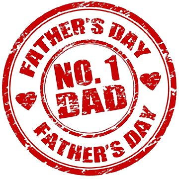 No 1 Dad - Father's Day by 43creativeart