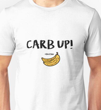 CARB UP - Go vegan Unisex T-Shirt