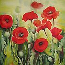 Poppies flowers by Elena Oleniuc