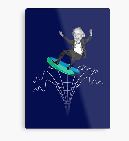 Gravity Waves Metal Print