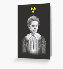 Marie Curie Greeting Card