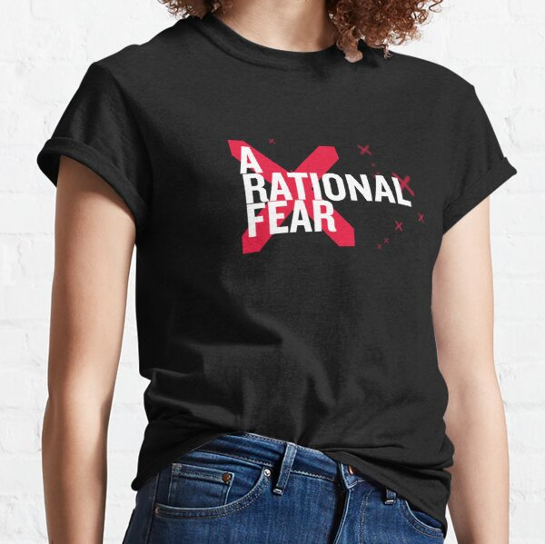 A Rational Fear comedy podcast logo Classic T-Shirt