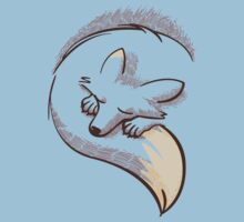 The fox is sleeping | Unisex T-Shirt