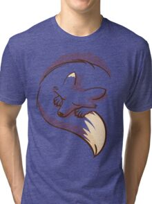 The fox is sleeping Tri-blend T-Shirt