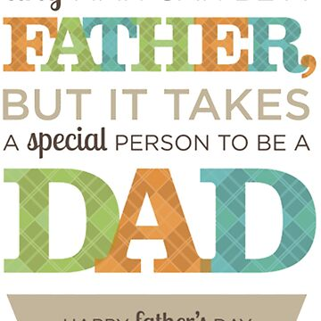 Father's Day - Happy by 43creativeart