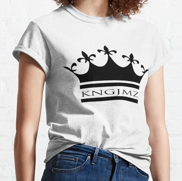 KNG JMZ - Designer Black Classic T-Shirt