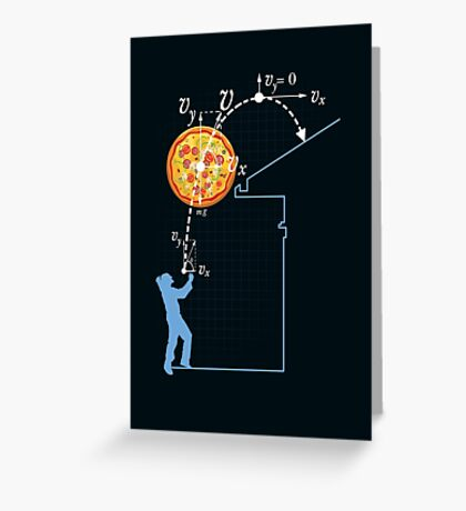 Breaking Bad Pizza Toss Greeting Card