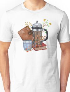 Coffee and Flowers T-Shirt