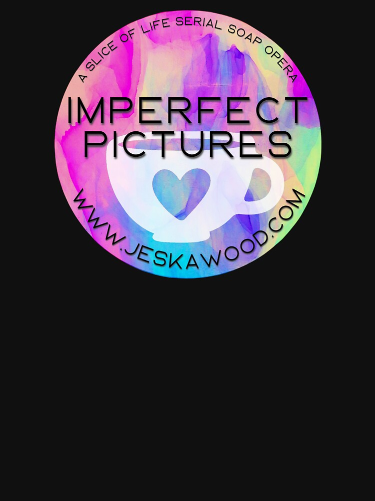 Imperfect Pictures Tye-Dye Coffee Cup Heart by JeskaWood