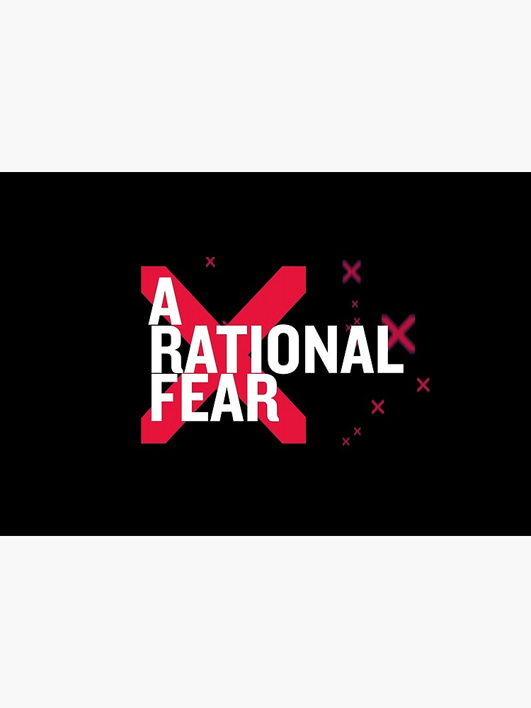 A Rational Fear mask. Don't go viral by ARationalFear