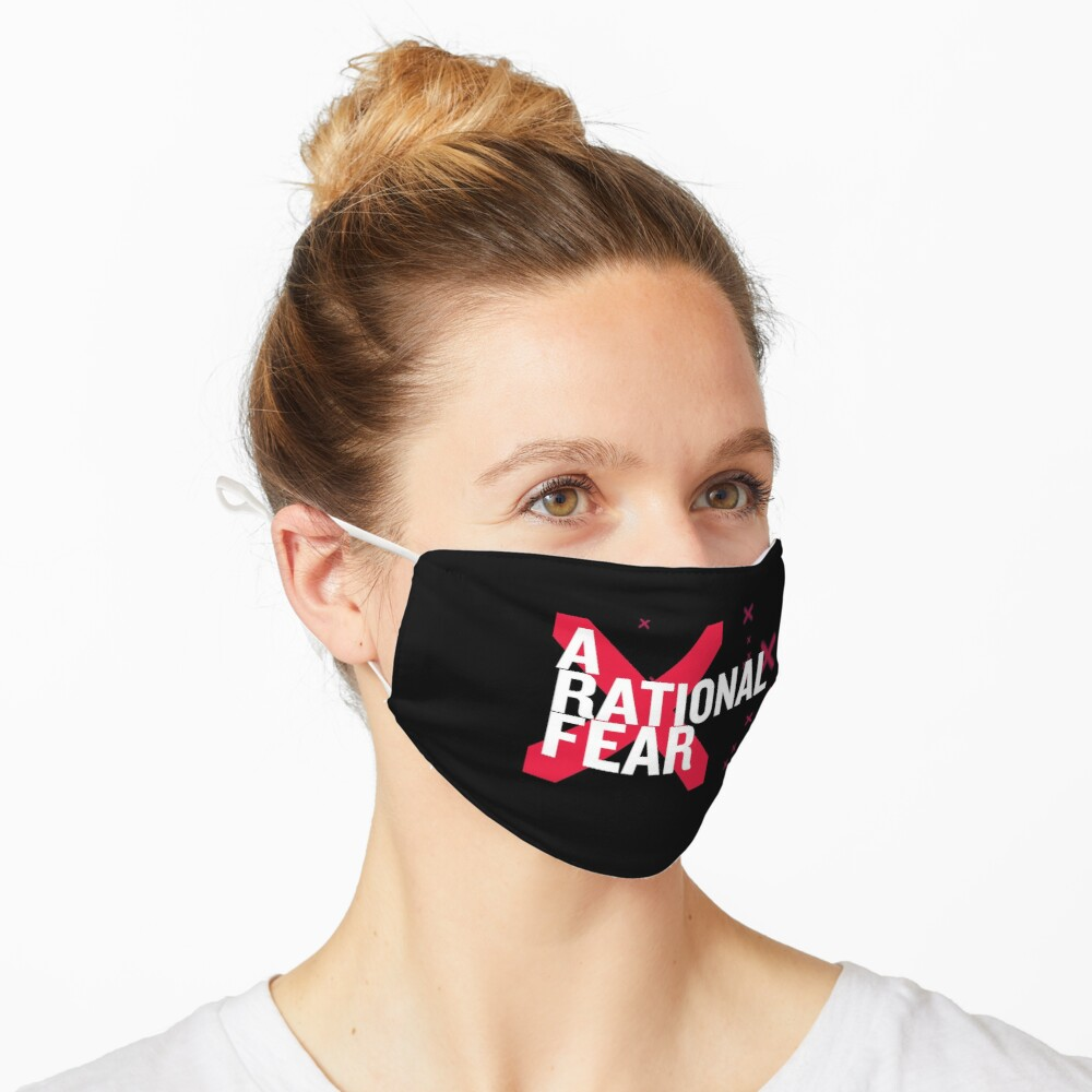 A Rational Fear mask. Don't go viral Mask