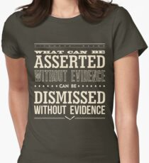 Hitchens' Razor Women's Fitted T-Shirt