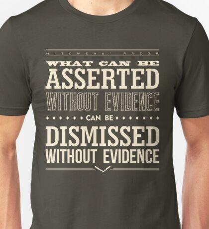 Hitchens' Razor Unisex T-Shirt