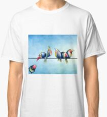Finches On Parade - Excerpt One Classic T-Shirt