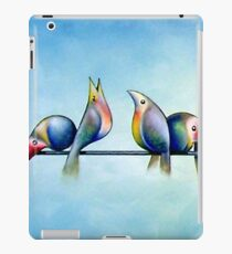 Finches On Parade - Excerpt One iPad Case/Skin