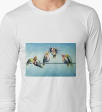Finches On Parade - Excerpt Two T-Shirt