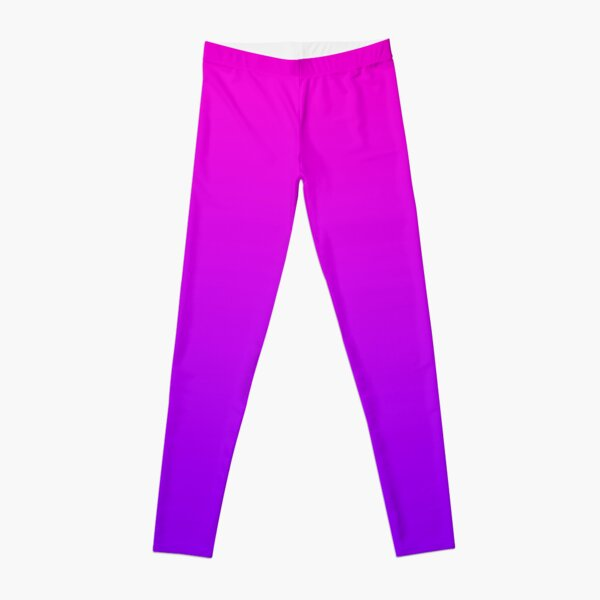 Vaporwave Purple/Pink Gradient  Leggings