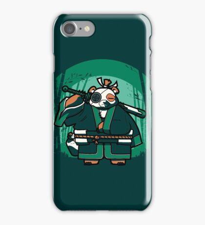 Samurai Panda iPhone Case/Skin