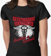 Getatoeëerde Verpleegster Women's Fitted T-Shirt