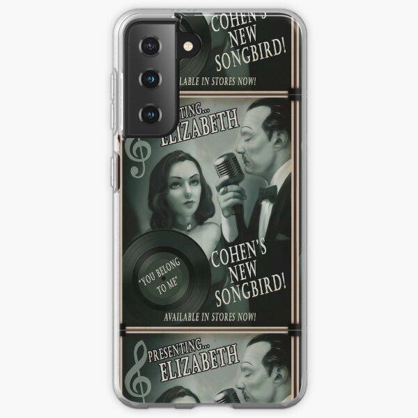 Bioshock Elizabeth and Songbird Poster Samsung Galaxy Soft Case