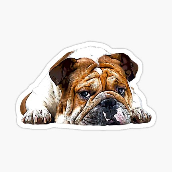 English British Bulldog  Sticker