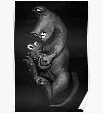 dinosaure enfant Poster