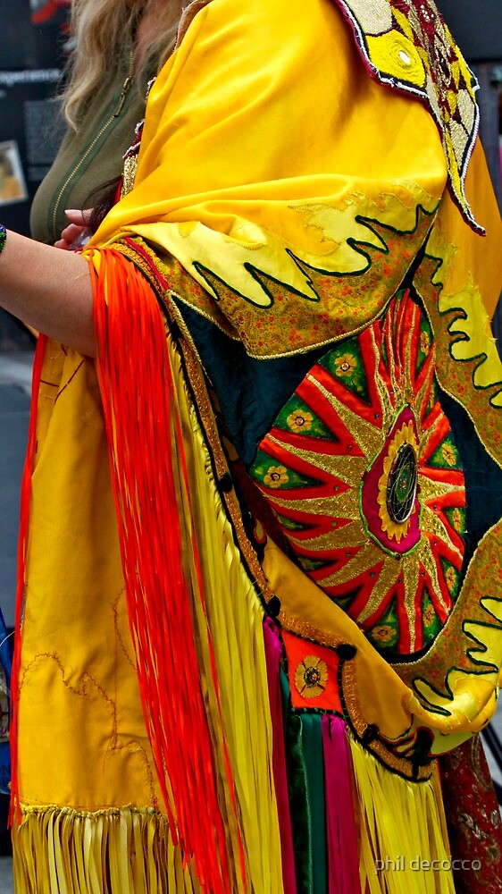 First Nations' Dress by phil decocco