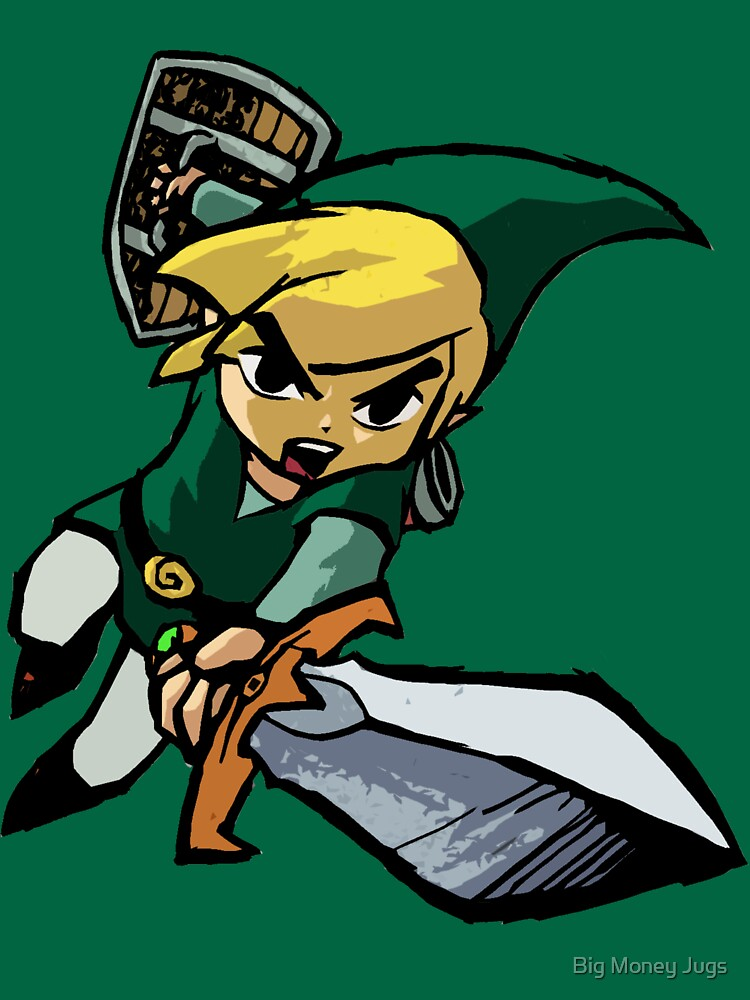 Toon Link - Changeable Color | Unisex T-Shirt