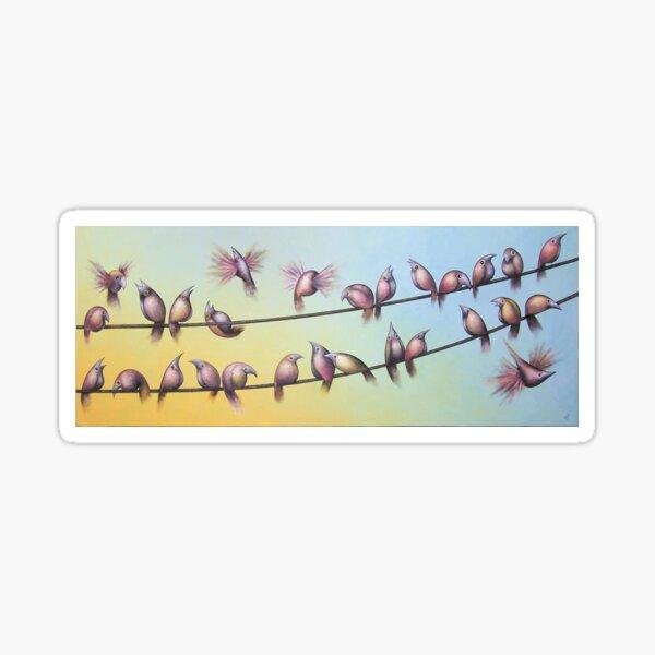 Early Birds Sticker