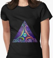 Pyramidal neuron Women's Fitted T-Shirt