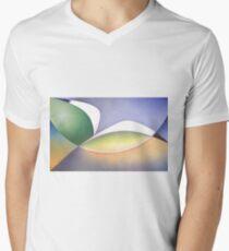 Seabird in Flight Men's V-Neck T-Shirt