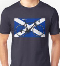Bike Flag Scotland (Big - Highlight) T-Shirt