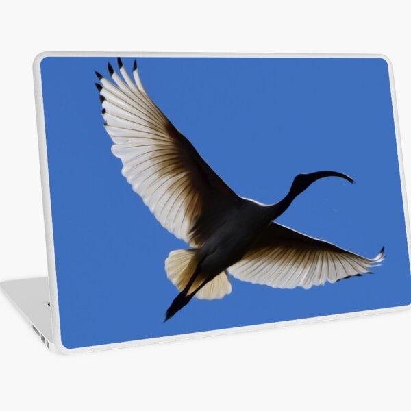 White Ibis 2 Laptop Skin