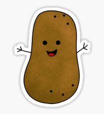 Happy Sweet Potato Sticker
