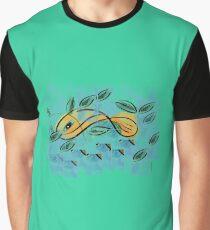 Gone Fishin Graphic T-Shirt