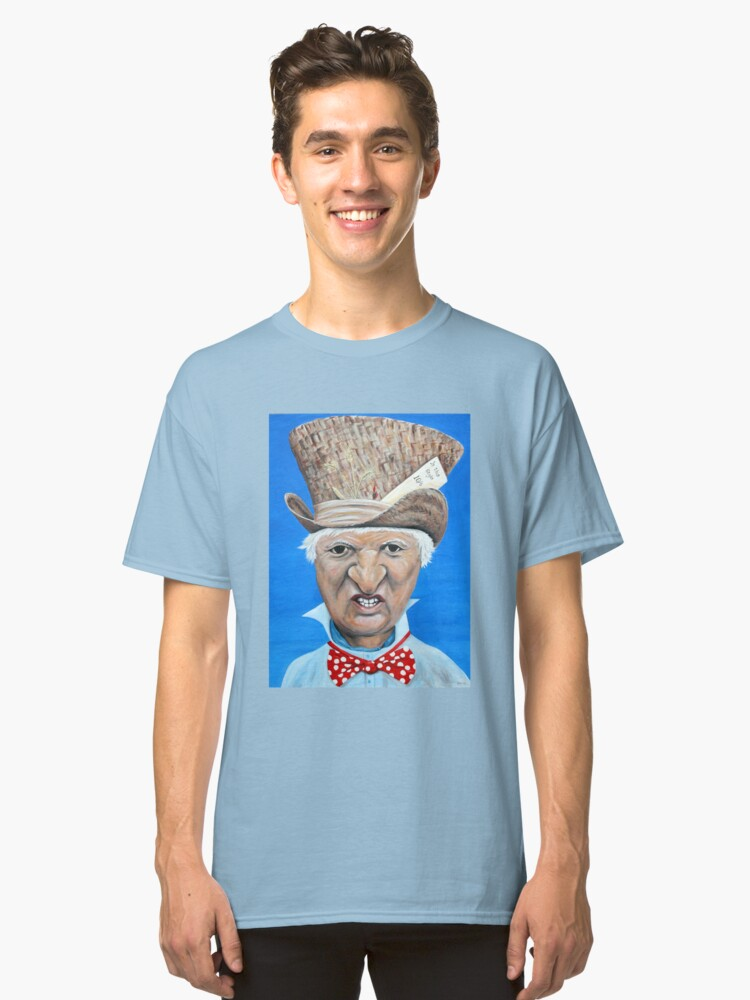 "Bob Katter as the ""Mad Katter"" Classic T-Shirt Front"