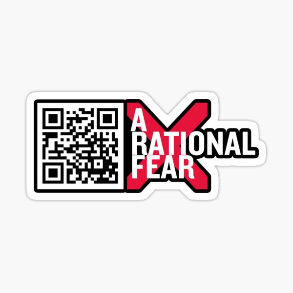 Help spread the word with this A Rational Fear sticker Sticker
