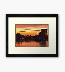 Welcome to Melbourne Framed Print