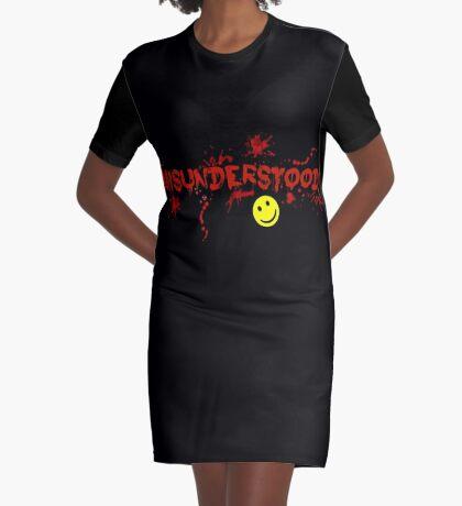 Misunderstood! Graphic T-Shirt Dress