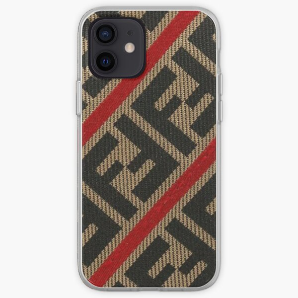 best red brown trend  iPhone Soft Case