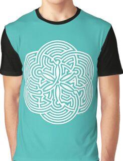 Modern Maze - brain game | Laberinto moderno - juego mental Graphic T-Shirt
