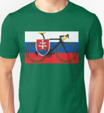 Bike Flag Slovakia (Big - Highlight) T-Shirt