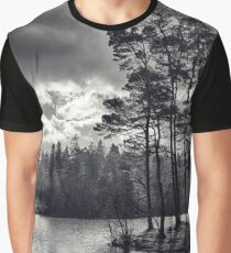 Daylight Dances on the Lake Graphic T-Shirt