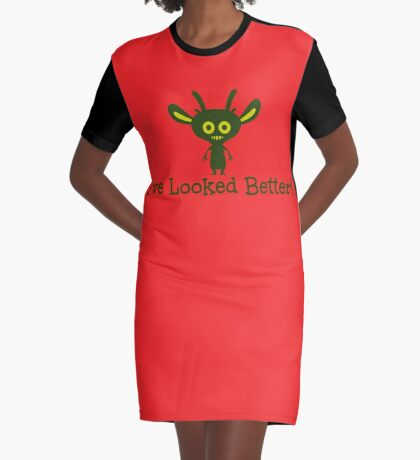 Say It Like It Is! Graphic T-Shirt Dress