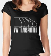 VW Transporter evolution Women's Fitted Scoop T-Shirt