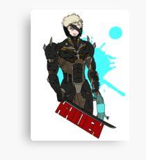 Metal Gear Rising Raiden Canvas Print